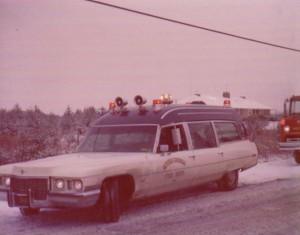 1972 MCFD Cadillac Ambulance