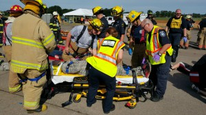 Transferring to Stretcher