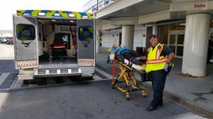 Unloading Volunteer Patient